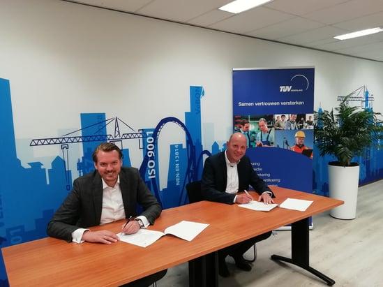 ondertekening Conclude en TÜV_2
